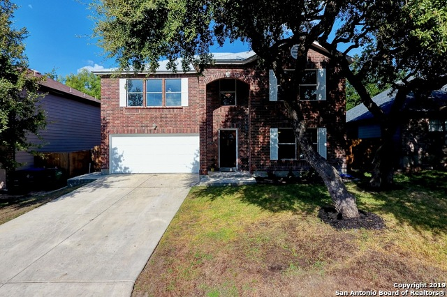 You don't want to miss this 4/2/2.5, 2 story full of updates and upgrades- kitchen with granite counter tops and large walk-in pantry, over-sized master up, recently painted interior with crown molding. Backyard Oasis with swimming pool, hot tub, and specialty deck lighting. Community gated park. Nearby shopping, award winning NISD, Sea World, and easy access to 151 and 1604.