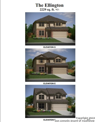 New Bella Vista home in Texas Research Park. Ellington plan 2229ft. Plan features 4 bedrooms, master