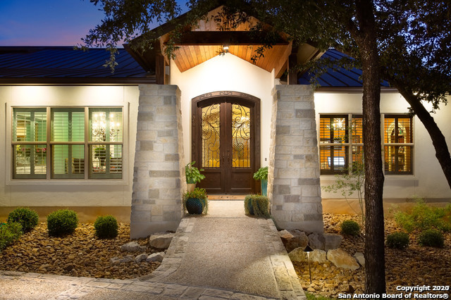 Custom Texas Hill Country Retreat in the Canyons w/ too many details to list. Master & 2 bedrooms down, game room or 4th bedroom up w/ full bath. Custom lighting & window coverings, many on remotes, including the sun shade on the deck. Outdoor kitchen w/Lynx appliances & custom fireplace w/ leathered granite hearth. Breath taking views. Energy efficiency extends to the garage. Spectacular kitchen w/ high-end Jenn-Air appliances. 4 car garage!