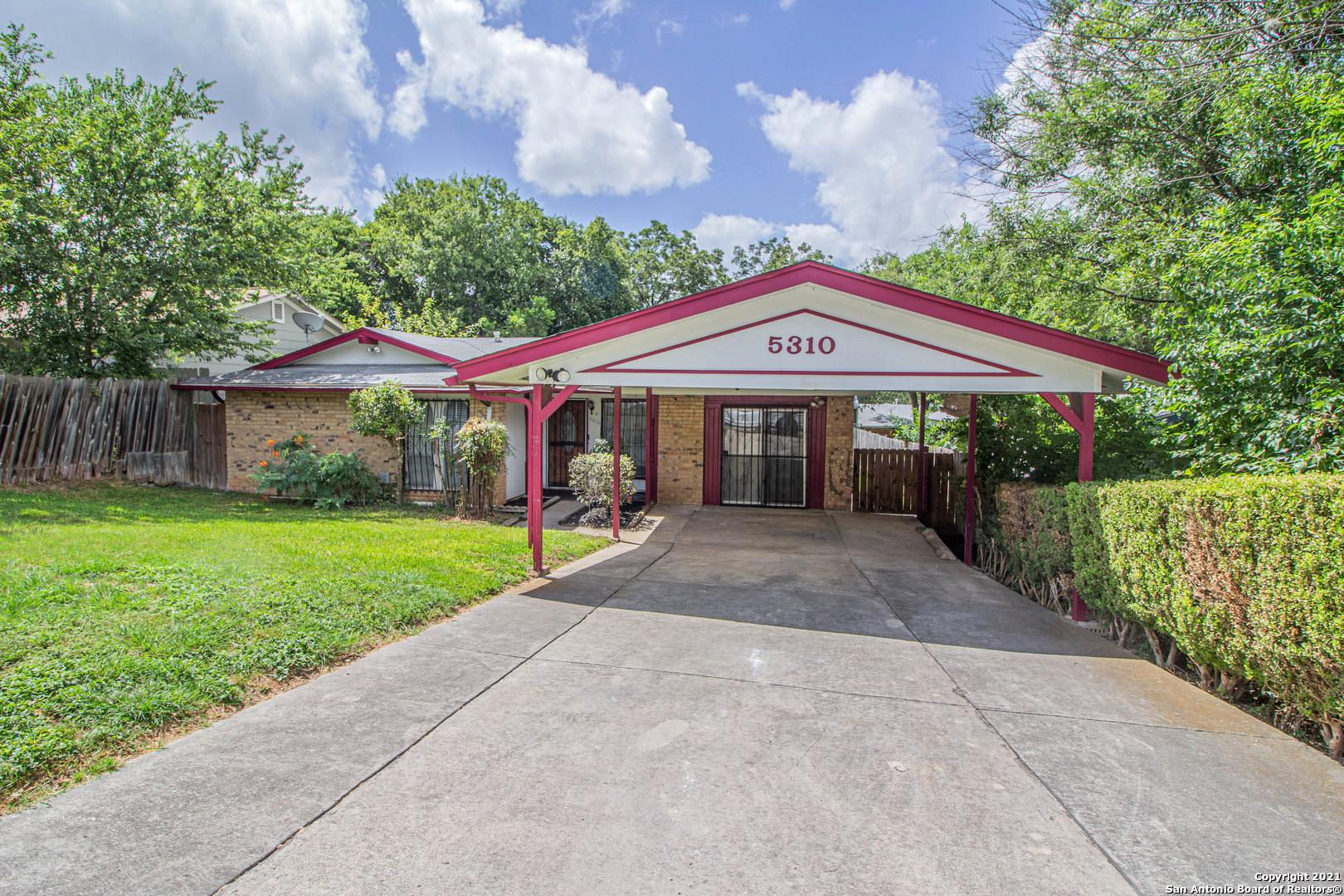 5310 CALISTOGA ST, San Antonio, TX 78228