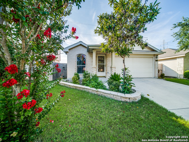 Amazing one owner home in Wildhorse backing to private greenbelt. Beautiful curb appeal, with tile t